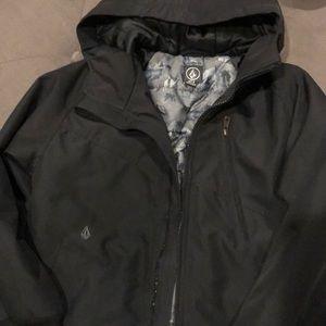 Other - Boys M Volcom Hernan Heavy Weight/Hooded Jacket.